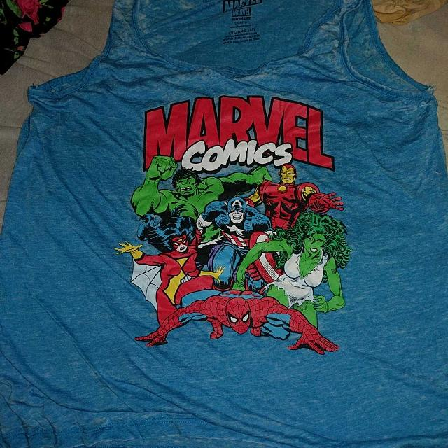 8f4040c1e8e85d Best Marvel Wife Beater Style Tank for sale in Port Huron