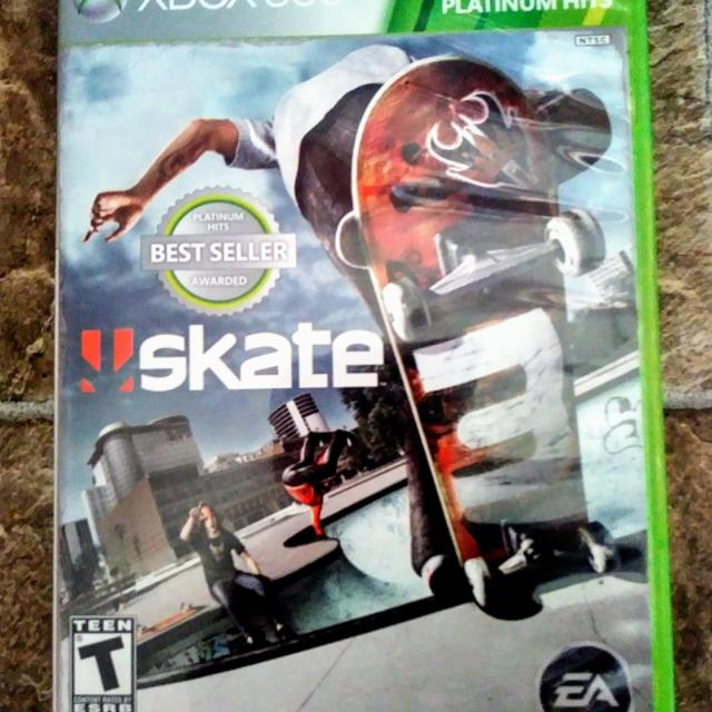 eac6b8643 Best Xbox 360 Platinum Hits Skate 3 for sale in Port Huron, Michigan for  2019