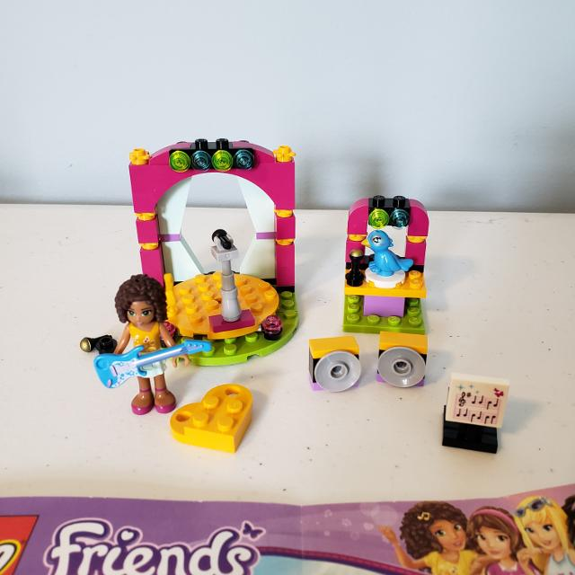 Best Lego Friends Set 41309 Andreas Musical Duet Includes