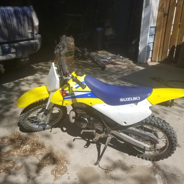 SUZUKI 80 Jr Dirt Bike
