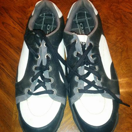 Oakley golf shoes size 10.5, used for sale  Canada