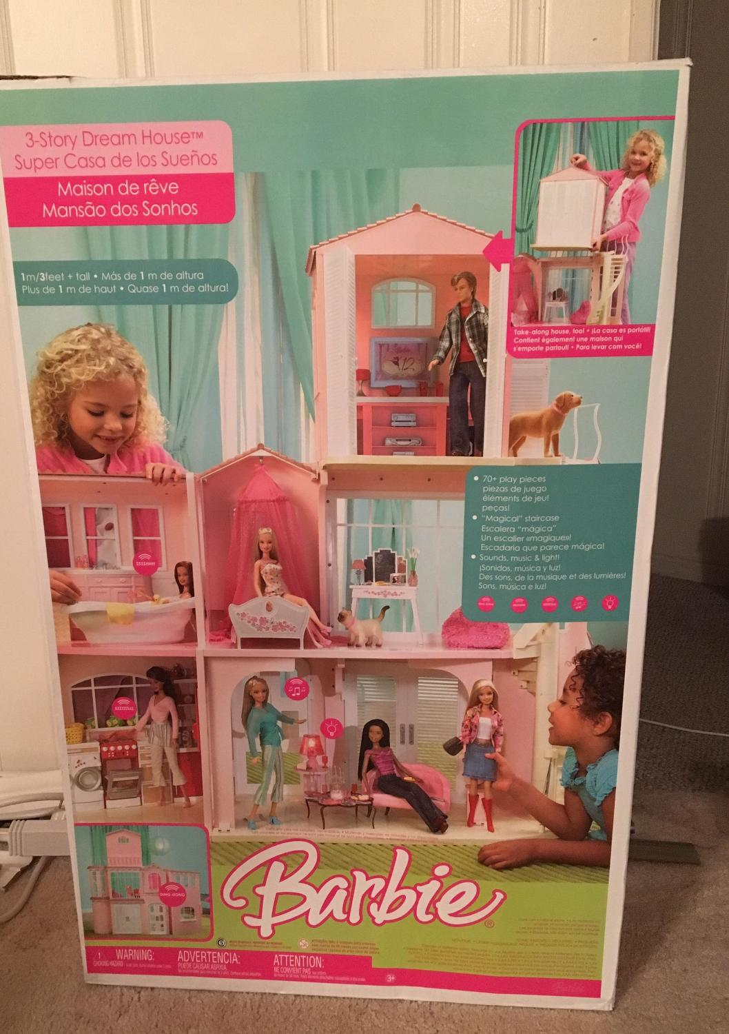 Find More 3 Story Barbie Dream House For Sale At Up To 90 Off