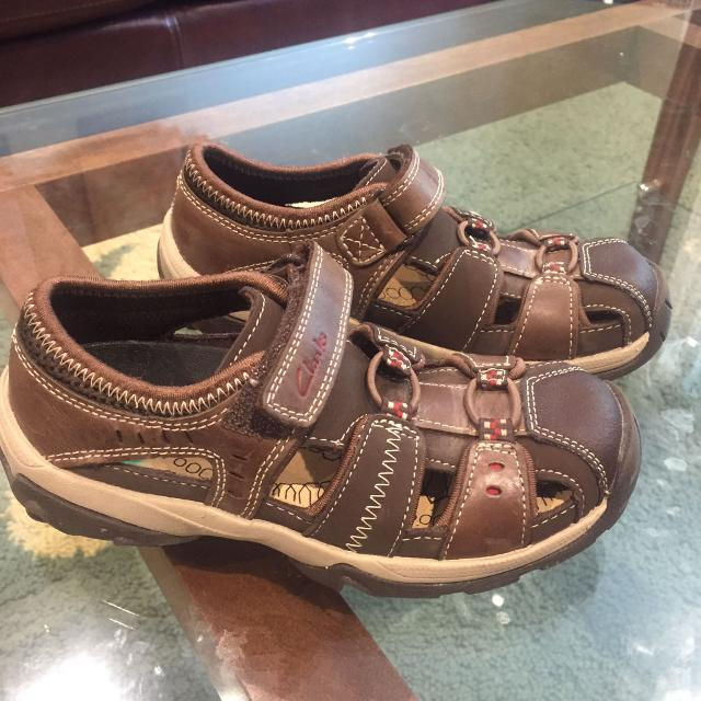 871aacbc9e82 Find more Boys Sandals - Clarks - Size 12 for sale at up to 90% off