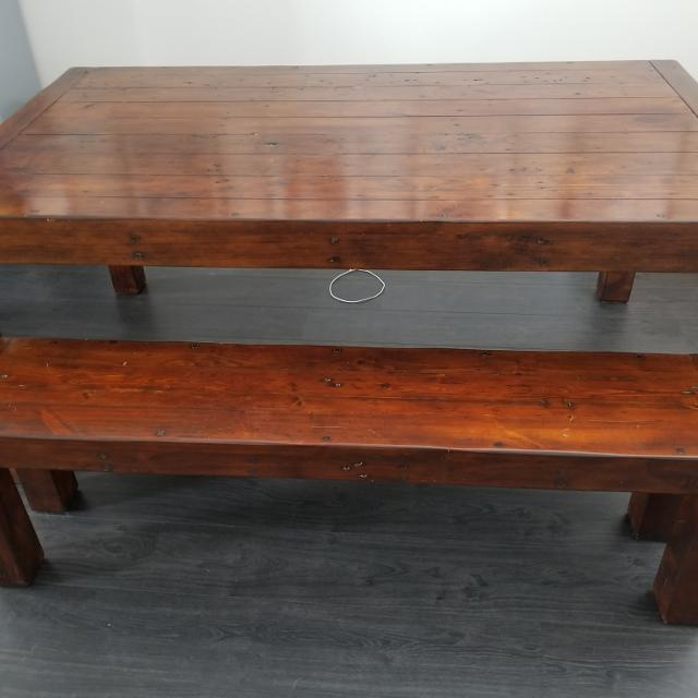 Best Dining Table And Bench By Post Rail For In Richmond British Columbia 2019