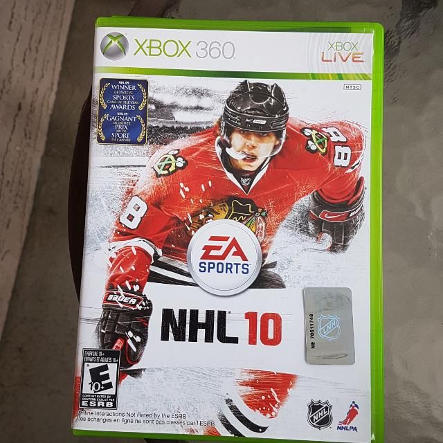 Find More Xbox 360 Nhl 10 Game For Sale At Up To 90 Off