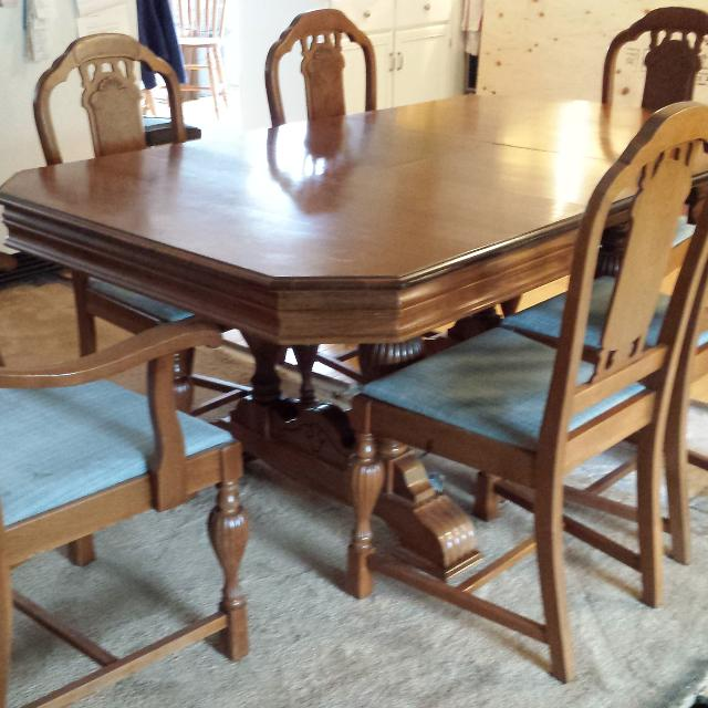 Find More Antique Walnut Dining Room Set For Sale At Up To 90 Off