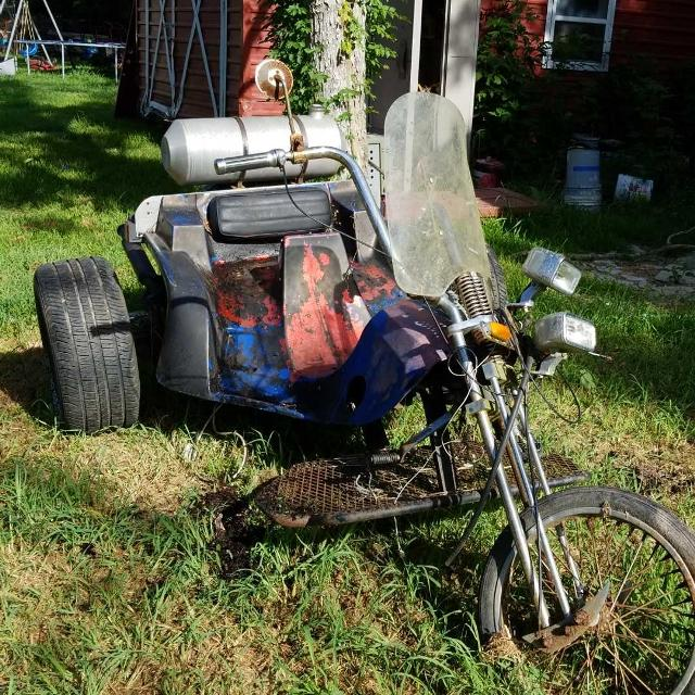 Find More Vw Trike With Clean Title Trade Or Sale For Sale