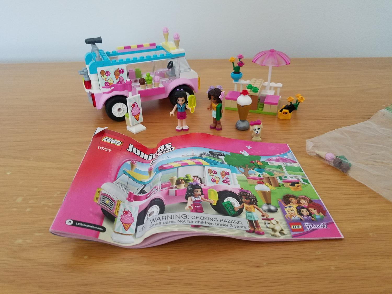 Find More Lego Juniors Emmas Ice Cream Truck For Sale At Up To 90 Off