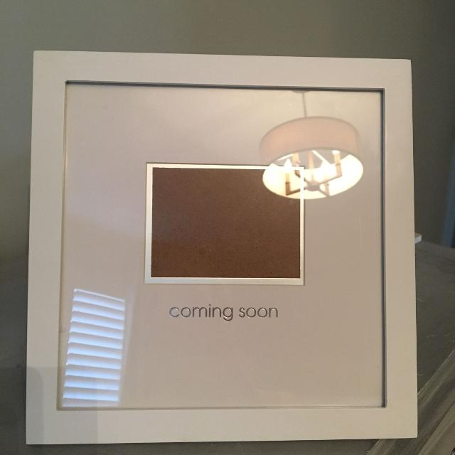 Best Coming Soon Sonogram Picture Frame For Sale In Barrie Ontario