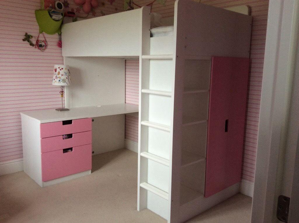 find more ikea stuva loft bed for sale at up to 90 off oshawa on. Black Bedroom Furniture Sets. Home Design Ideas
