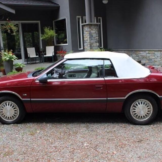 Best 1990 Chrysler Lebaron Le V6 Convertible For In Port Alberni British Columbia 2019