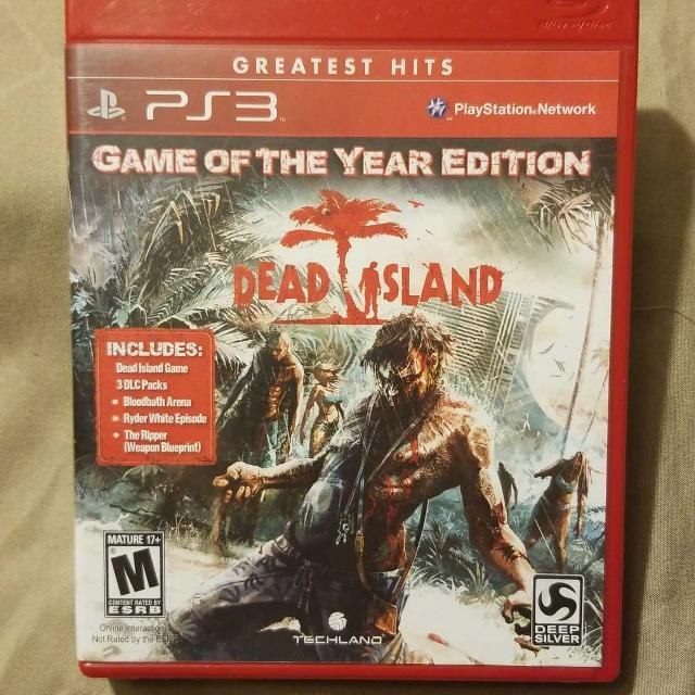 Best dead island game of the year ps3 for sale in appleton dead island game of the year ps3 malvernweather Choice Image