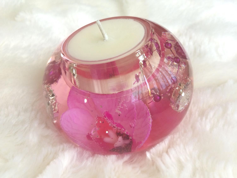 Best Pink Tea Light Candle Holder For