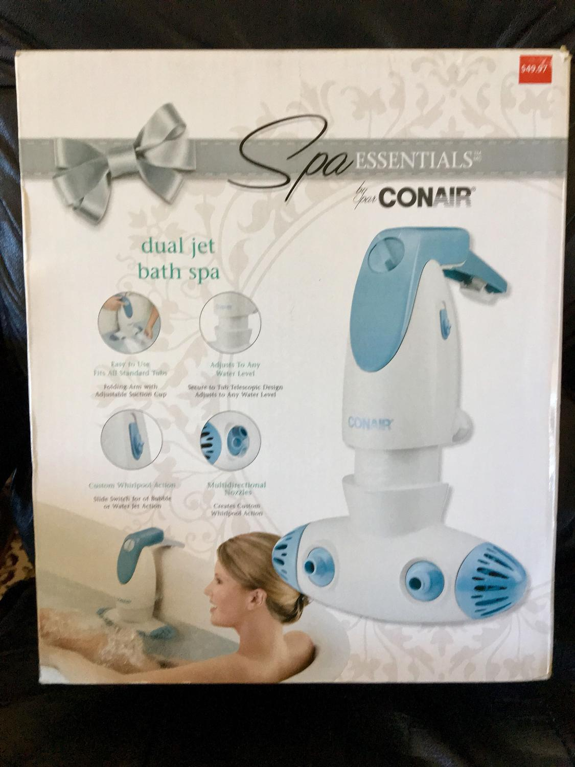 Find more Conair Dual Jet Bath Spa for sale at up to 90% off