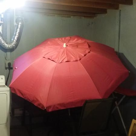 Pink umbrella, used for sale  Canada