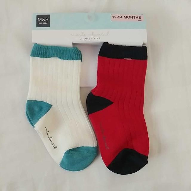 (New) Marks and Spencer's LONDON baby socks