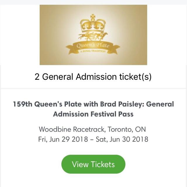 best queens plate brad paisley tickets for sale in barrie ontario