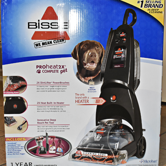 Best Bissell Proheat2x Complete Pet Carpet Floor Upholstery Cleaner
