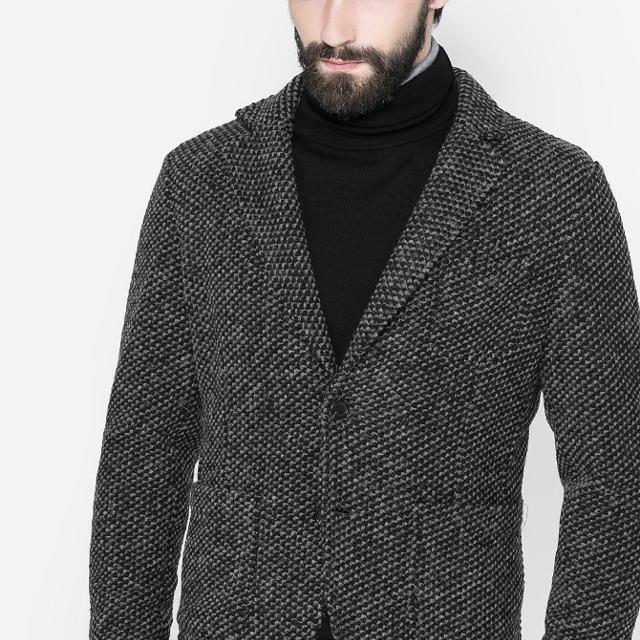 on sale 66ab3 c2c2c Best Zara Men Grey And Black Casual Blazer for sale in Richmond Hill,  Ontario for 2019