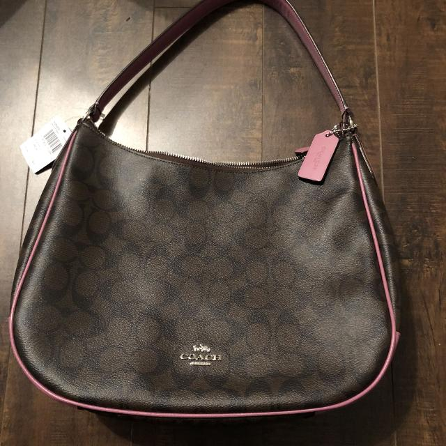 7aa35575ca56 Best Brand New Brown And Pink Coach Hobo Bag for sale in New Westminster