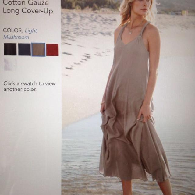 d9157753caa Find more Brand New Cotton Gauze Long Dress By Garnethill / *reduced ...