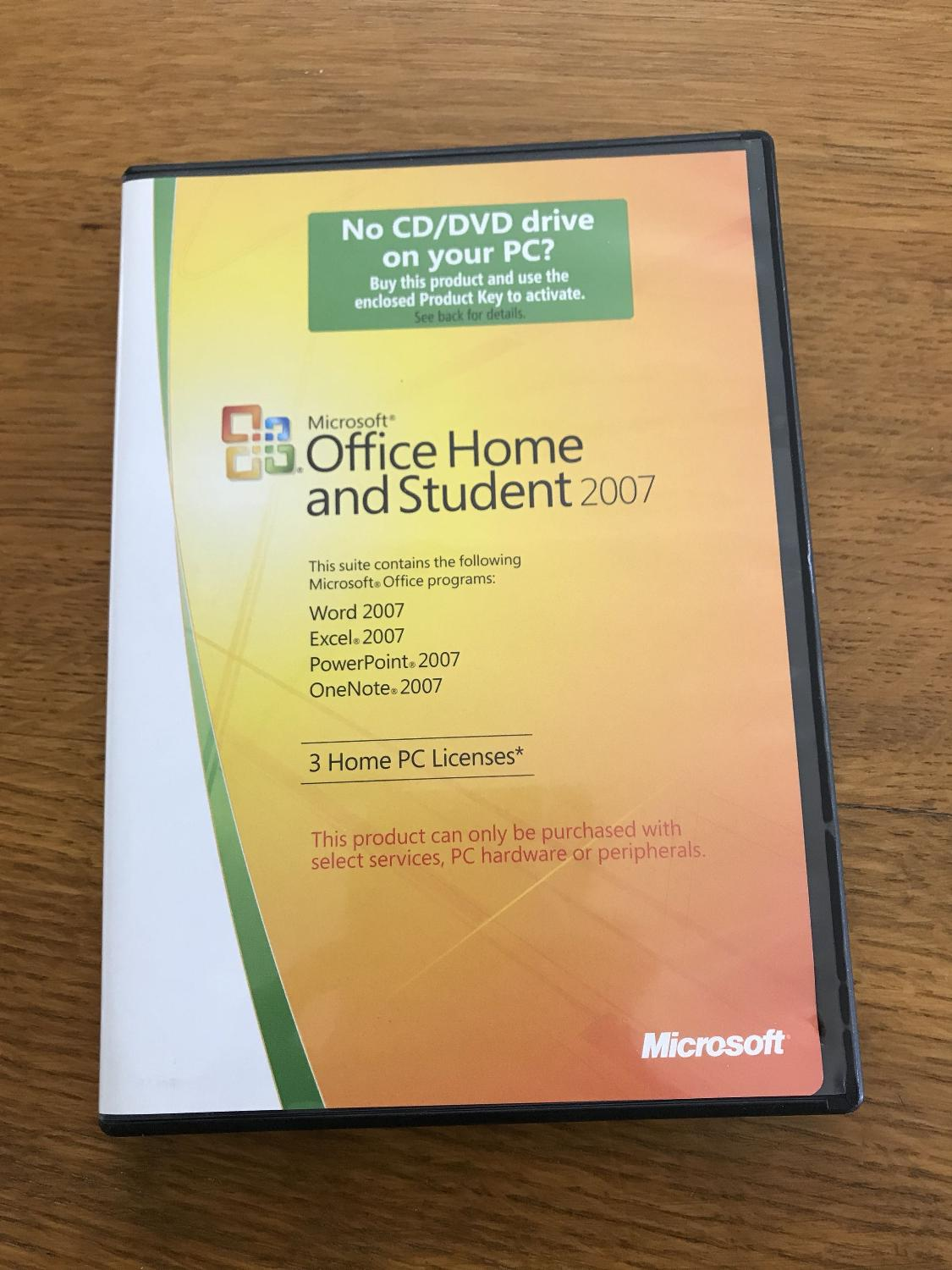 Find more Microsoft Office Home And Student 2007 With