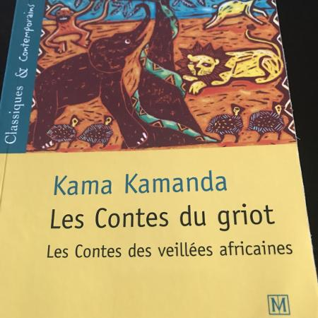 Les Contes du Griot de Kama Kamanda, used for sale  Canada