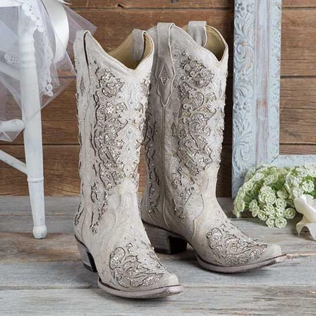various styles newest style of latest collection Brand new woman's glitter/sparkle cowgirl boots
