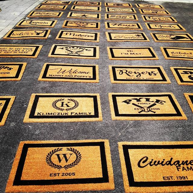 Best Custom Welcome Mats For Sale In Keswick Ontario For 2019