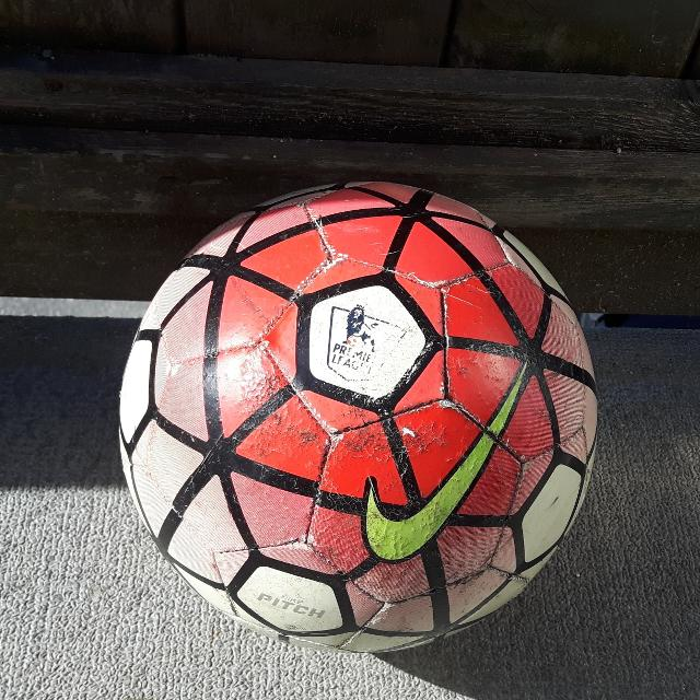 Best Red Nike Pitch Premier League Soccer Ball - Size 5 for sale in  Gibsons 9bf60abd03a7