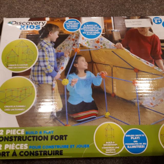 Find More Discovery Kids Build And Play Construction Fort Building