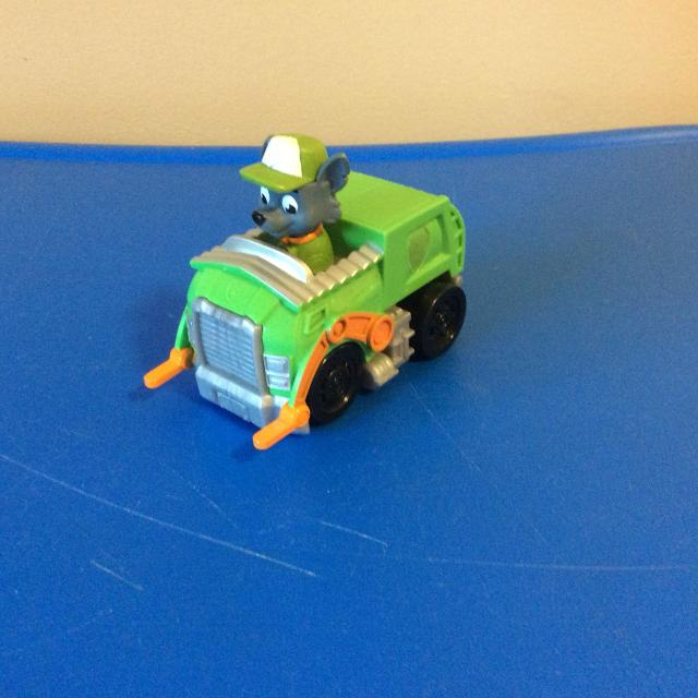 best paw patrol rocky with recycling truck for sale in victoria