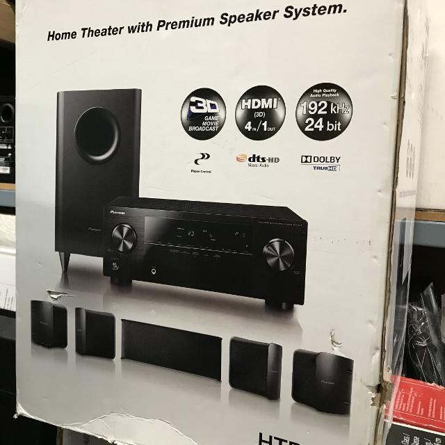 Pioneer Home Theater System 600 Watts HDMI, FM, AM For Sale