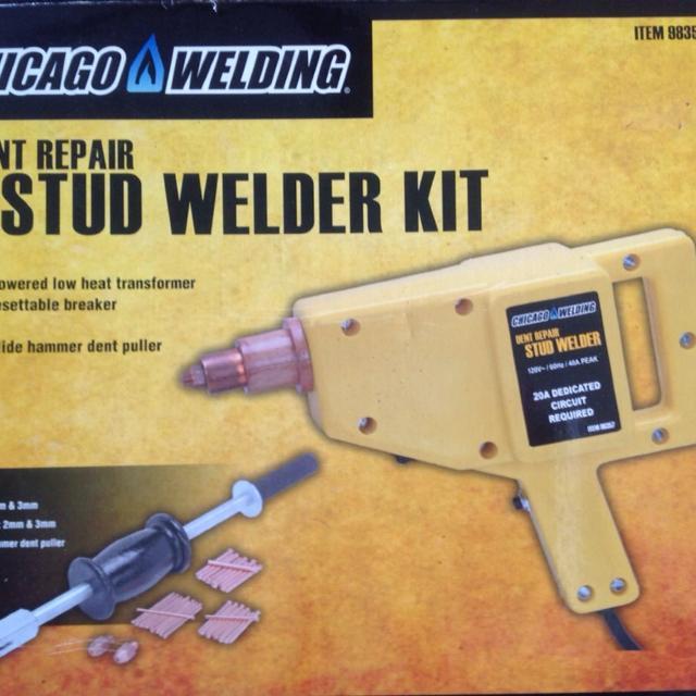 Chicago Welding dent repair stud welder kit, NIB! Retails for $145 00