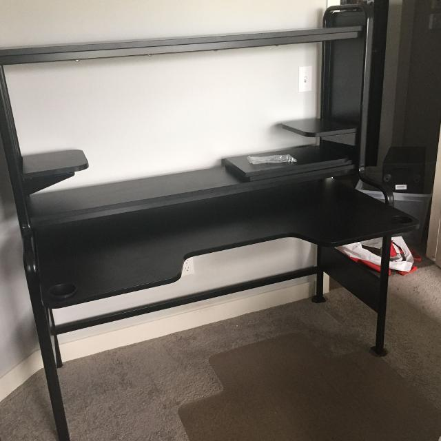 best ikea fredde computer desk for sale in airdrie alberta for 2019. Black Bedroom Furniture Sets. Home Design Ideas