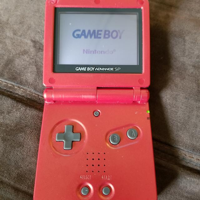 Best Cherry Red Gameboy Advance Sp For Sale In Calgary Alberta For 2021