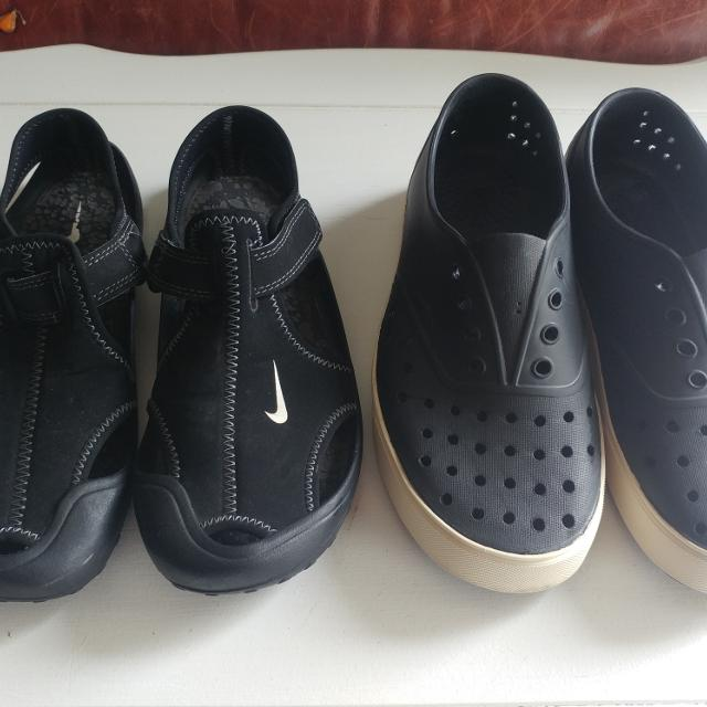 Find more Natives Ppu   Nike Water Shoes Sz 3 Euc for sale at up to ... 8b31b1702