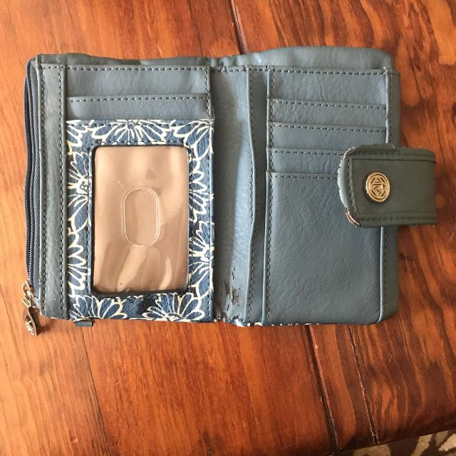 b48f313ffeb4 Best Relic Handheld Blue flower-patterned Wallet for sale in ...