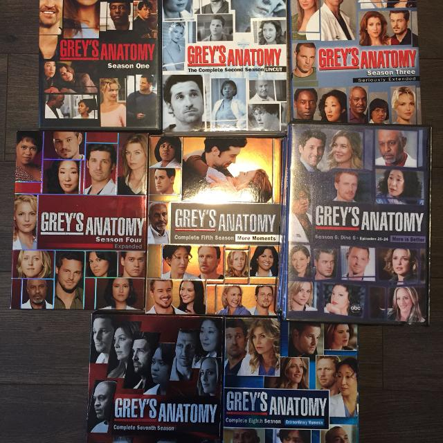 Find More Greys Anatomy 8 Seasons For Sale At Up To 90 Off