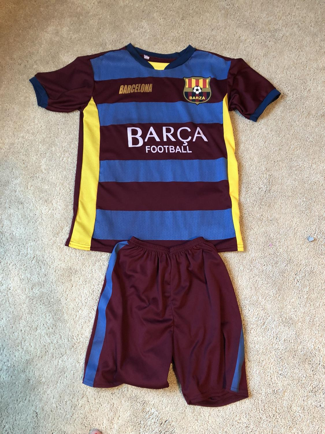 """more photos 98f9b b6d93 Barcelona """"Messi"""" soccer outfit"""