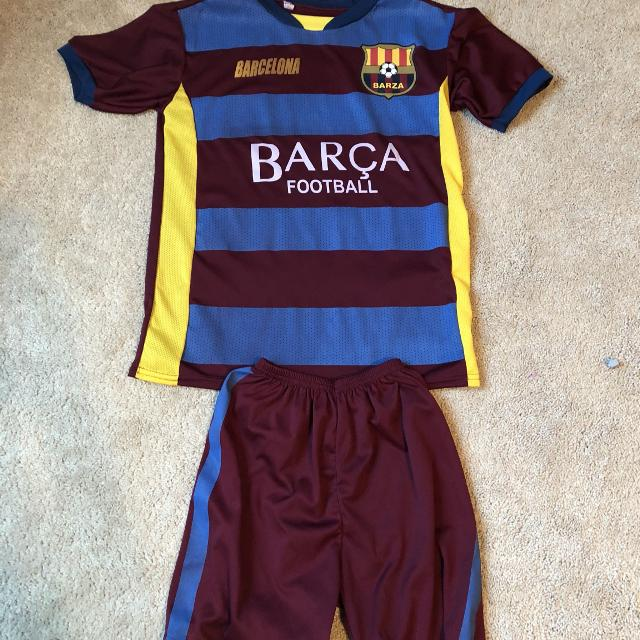 """more photos 40784 82f3f Barcelona """"Messi"""" soccer outfit"""