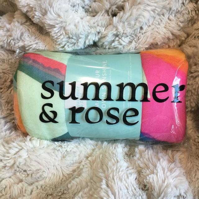Find More Summer Rose Beach Towel For Sale At Up To 90 Off
