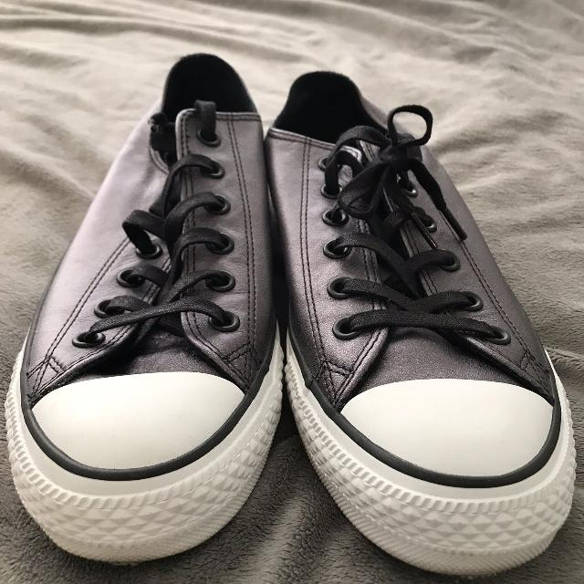 f5b1cff5595c Best Converse Chuck Taylors Low Cut Running Shoes - Dark Metallic Blue Grey  - Brand New - Never Been Worn -  50 Obo Reduced To  20 for sale in  Yorkville