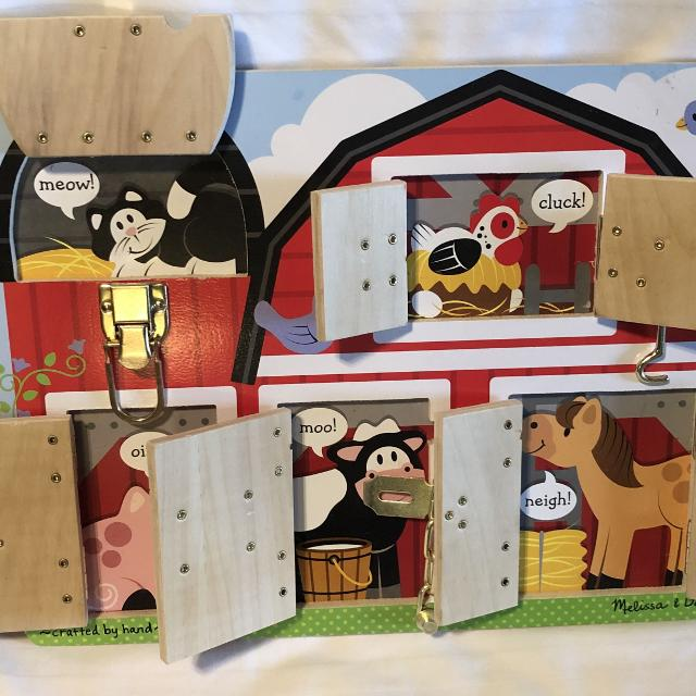 Melissa And Doug Latches Barn Puzzle