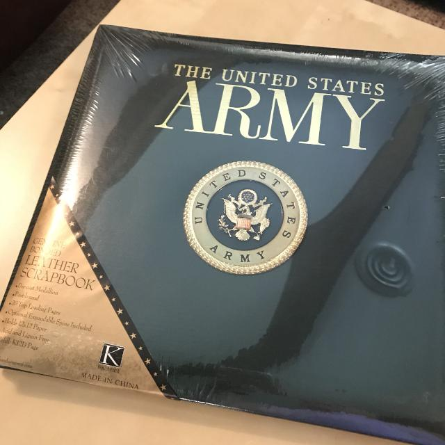 Best Army Scrapbook Brand New For Sale In Hendersonville
