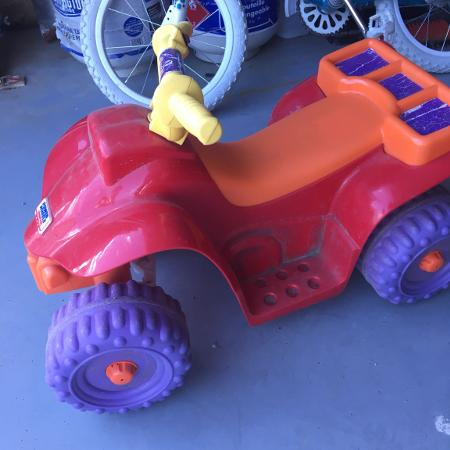 Used, Power wheels 6v quad for sale  Canada