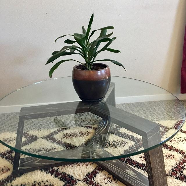 Best West Elm Geometric Glass Coffee Table For Sale In Ellensburg - West elm geometric coffee table