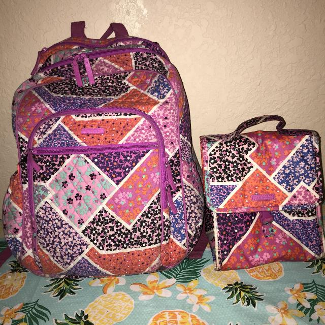 bcc9f8d77b28 Find more Vera Bradley Backpack   Lunch Box for sale at up to 90% off