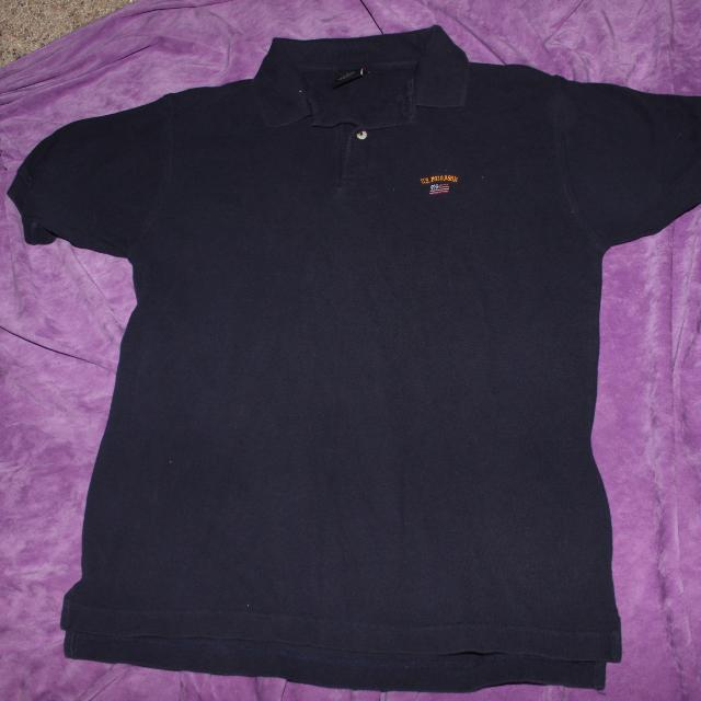 14b6ac01 Best U.s. Polo Assn. Navy Blue Short Sleeve Polo Shirt With Embroidered  American Flag Size Large for sale in Dekalb County, Illinois for 2019