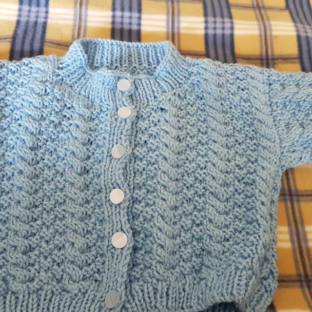 Best Hand Knit Sweater Pattern Says 1-2yrs. for sale in Clarington ...